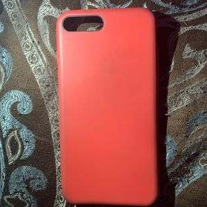 Red apple silicone phone case iPhone 6/7/8